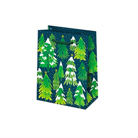 Snowy Trees Small Gift Bag