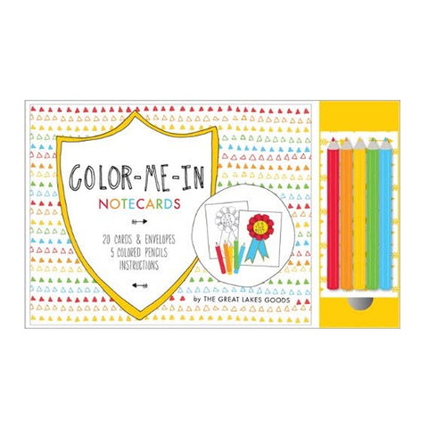 Colour Me In Notecards