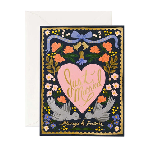Rifle Love Birds Single Card