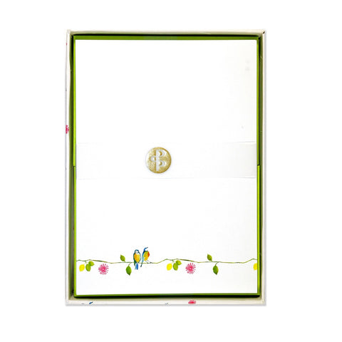 Watercolour Birds Letter-Perfect Stationery