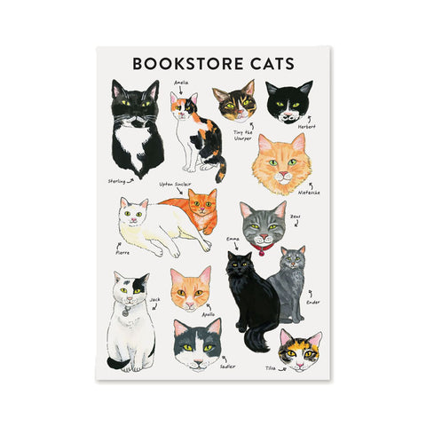 Bibliophile Journal: Bookstore Cats