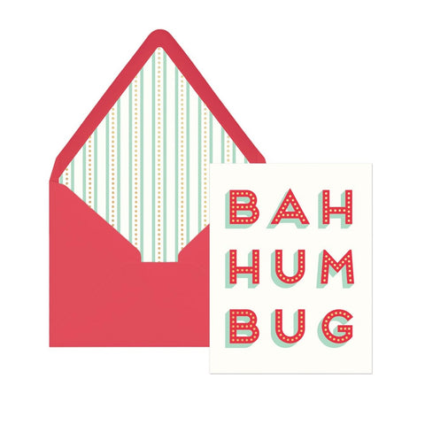 Bah Hum Bug Holiday Boxed Cards