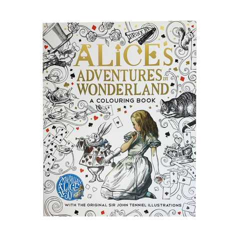 Alice's Adventures in Wonderland Colouring Book