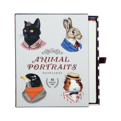 Animal Portraits Boxed Cards