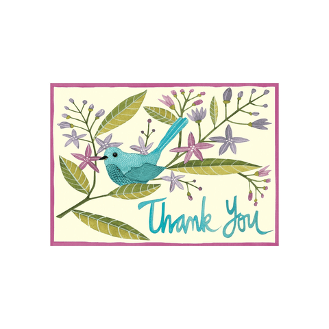 Avian Friends Thank You Notecards