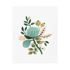 "Blue Botanical 8x10"" Print"