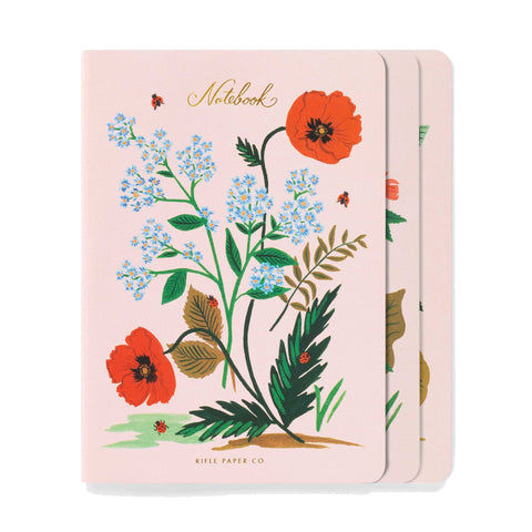 Rifle Botanical Notebooks