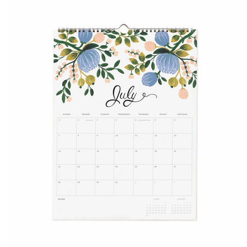 2019 Bouquet Appointment Calendar