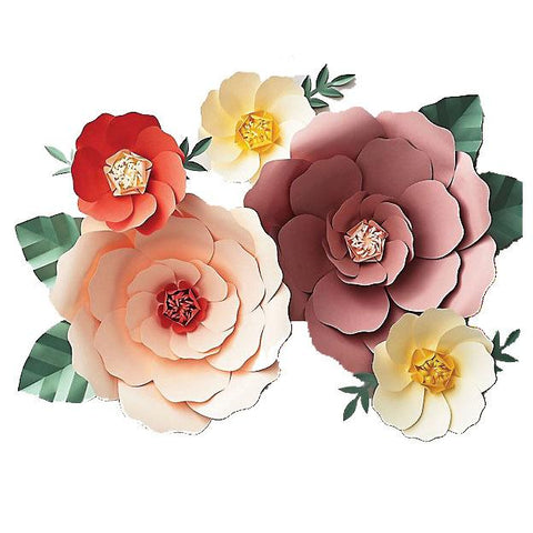 Bright Big Bloom Paper Flower Kit