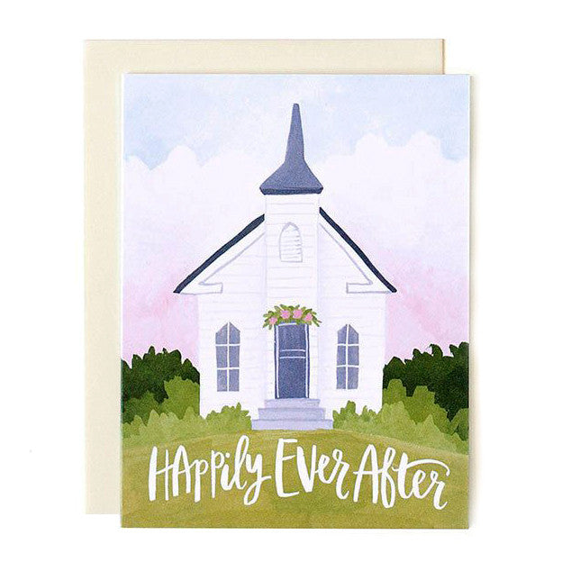 Wedding Chapel Single Card