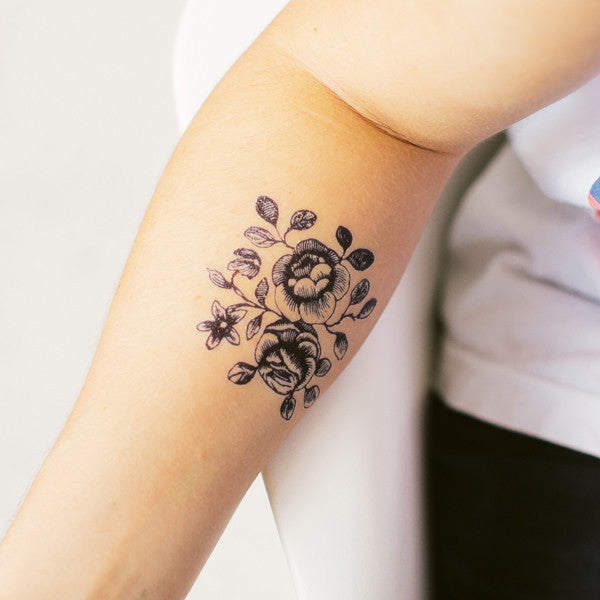 Cartolina Blooms Temporary Tattoo (set of 2)