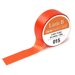 Cadmium Orange Washi Tape - 15mm