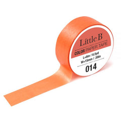 Cadmium Orange Light Washi Tape - 15mm