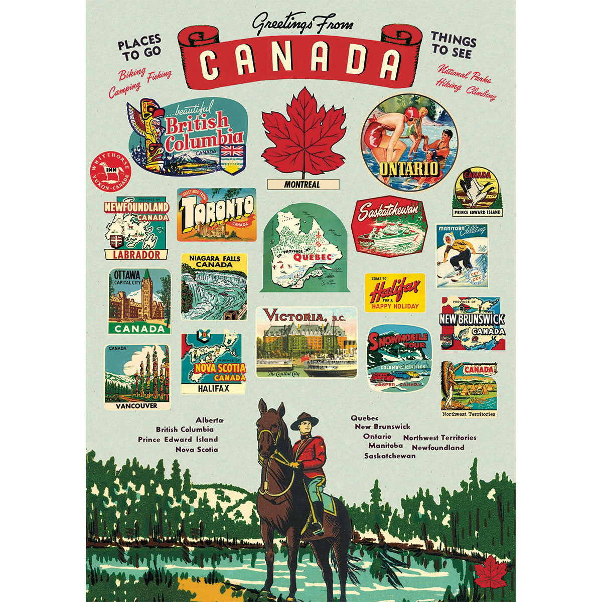 Canada Poster Wrap