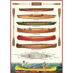 Canoes Poster Wrap