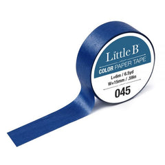 Cobalt Blue Washi Tape - 15mm