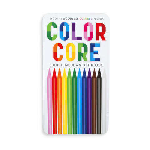 Colour Core Woodless Pencils Set/12