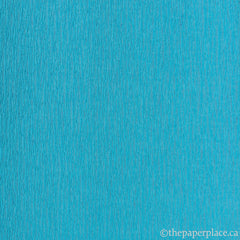 Double-Sided Crepe - Aqua Royal