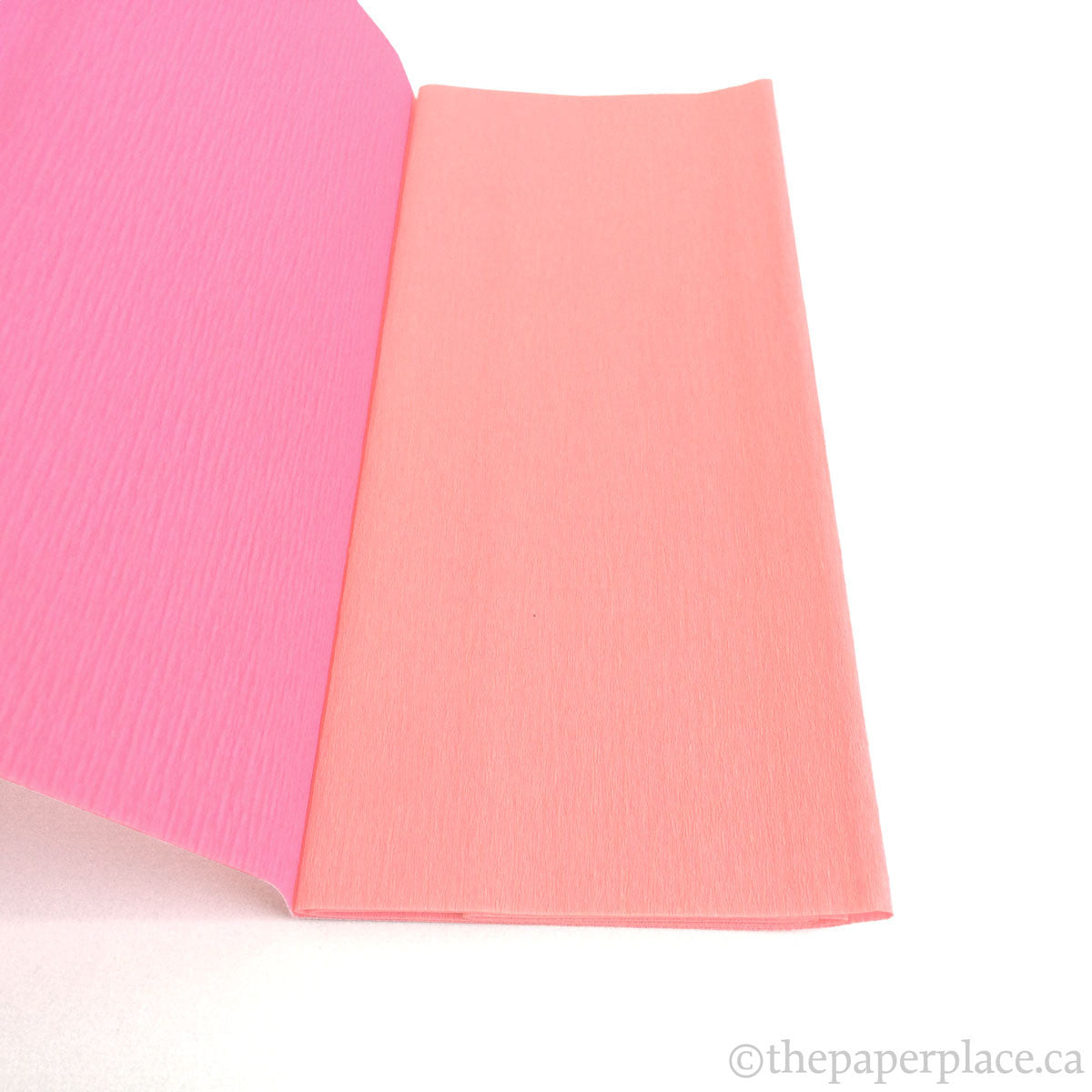 90g Double-Sided Crepe - Light Rose/Pink