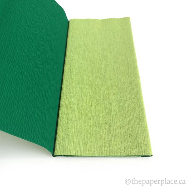 90g Double-Sided Crepe - Mint/Forest 3341