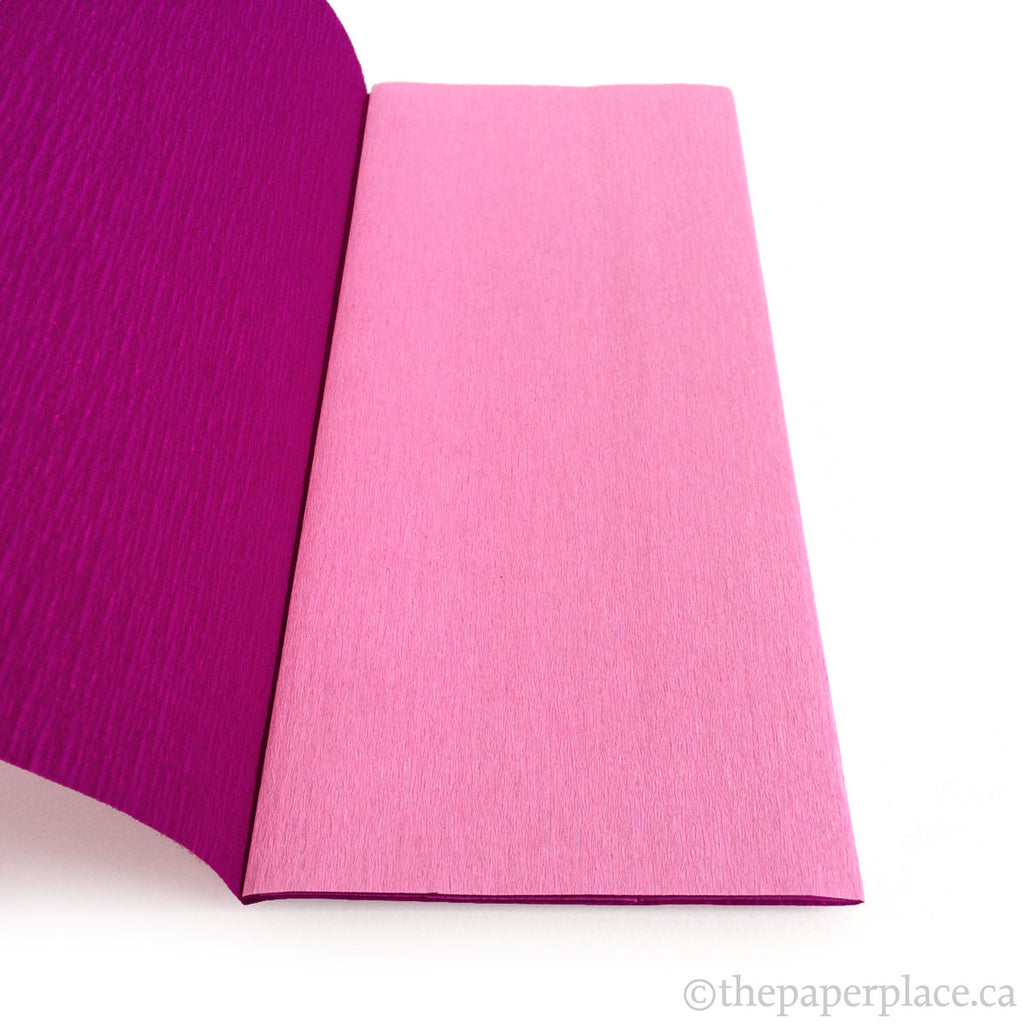 90g Double-Sided Crepe - Pink/Berry 3318