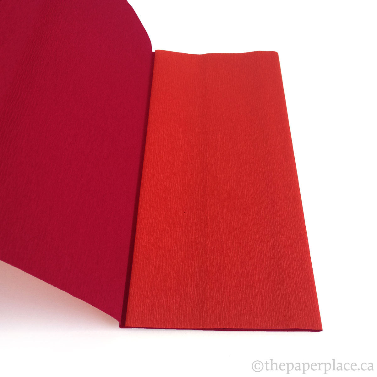 90g Double-Sided Crepe - Red/Wine