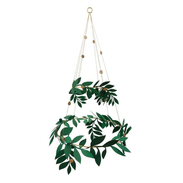 Christmas Foliage Chandelier