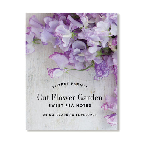 Floret Farm's Cut Flower Garden Sweet Pea Notecards