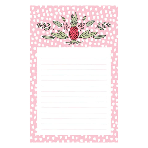 Fruit and Flower Notepad