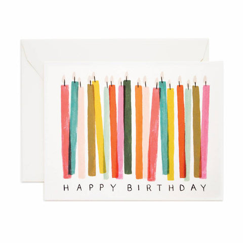Birthday Candle Single Card