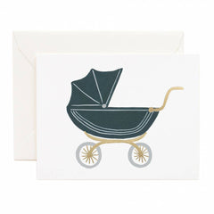 Rifle Pram Baby Single Card