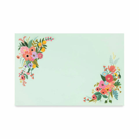 Garden Party Paper Placemat