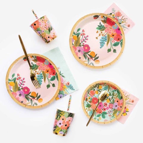Garden Party Small Paper Plates