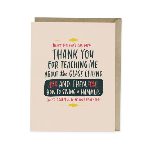 Glass Ceiling Single Card