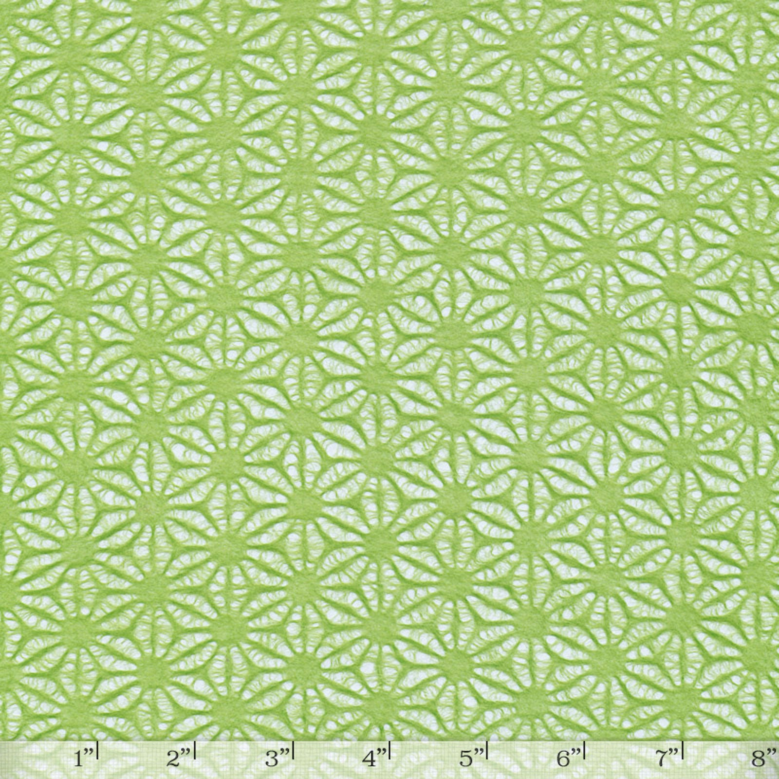 Hemp Flower Lime Green - Full Sheet