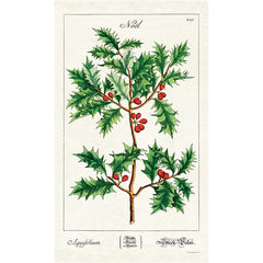 Holly Tea Towel