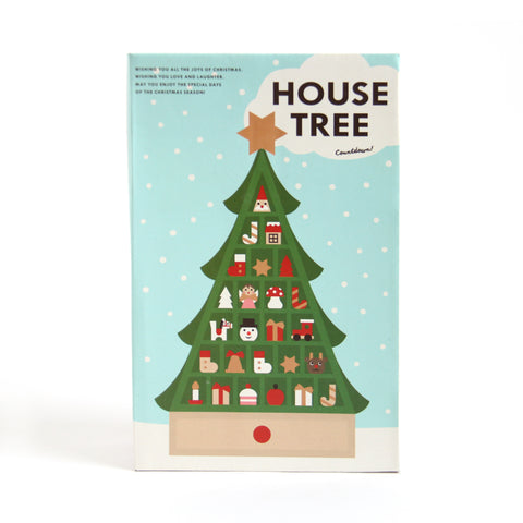 House Tree Countdown - 2015 Edition