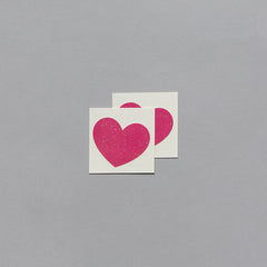 I Heart Sparkles Temporary Tattoo (set of 2)
