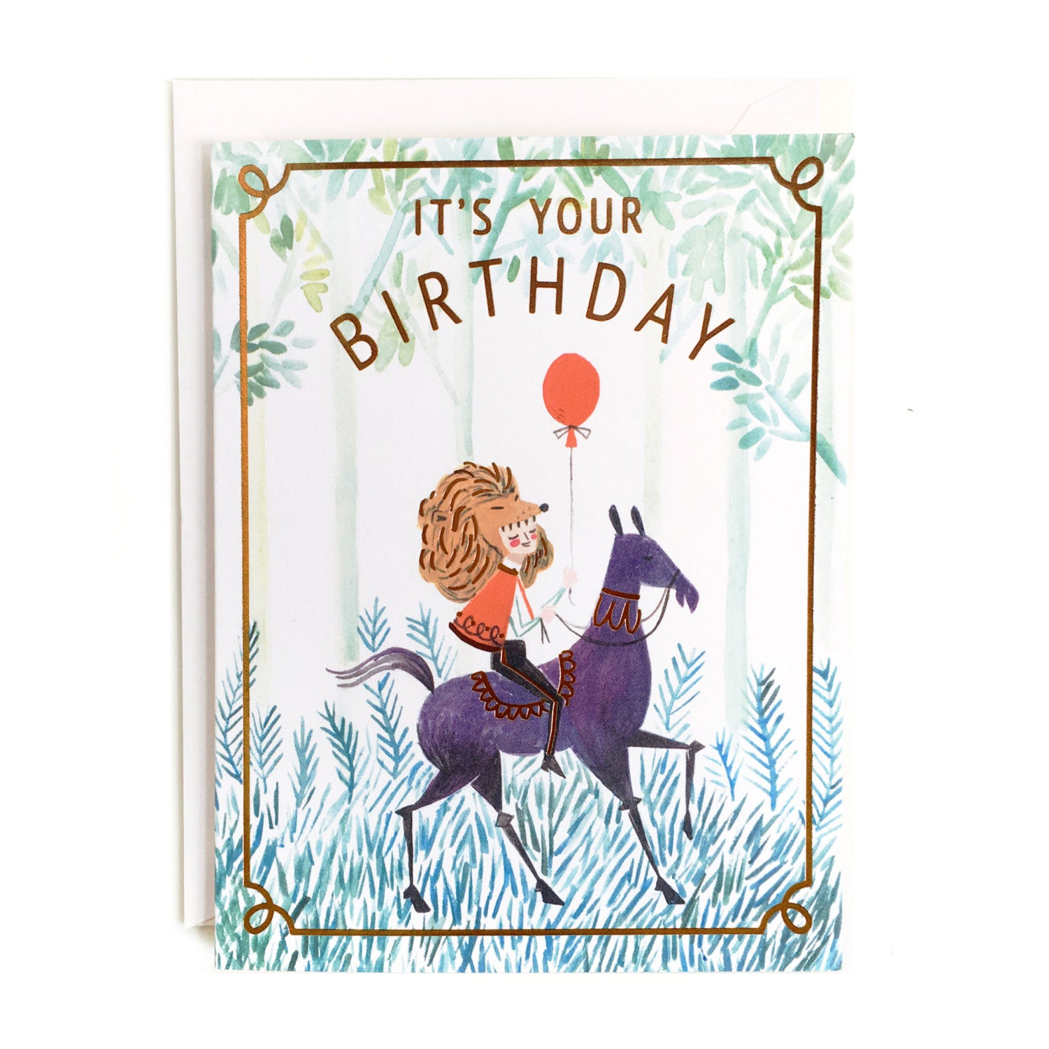 It's Your Birthday Single Card