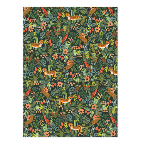 Rifle Paper Co. Jungle Wrapping Sheets, Roll of 3