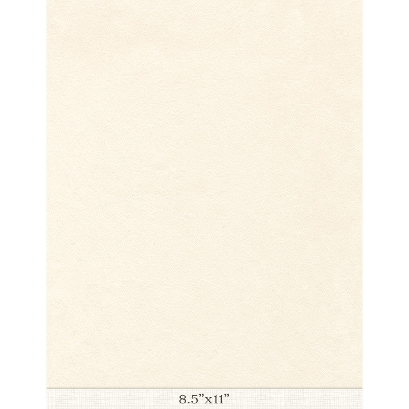 "Kizuki Kozo White Sized - Sample 8.5"" x 11"""