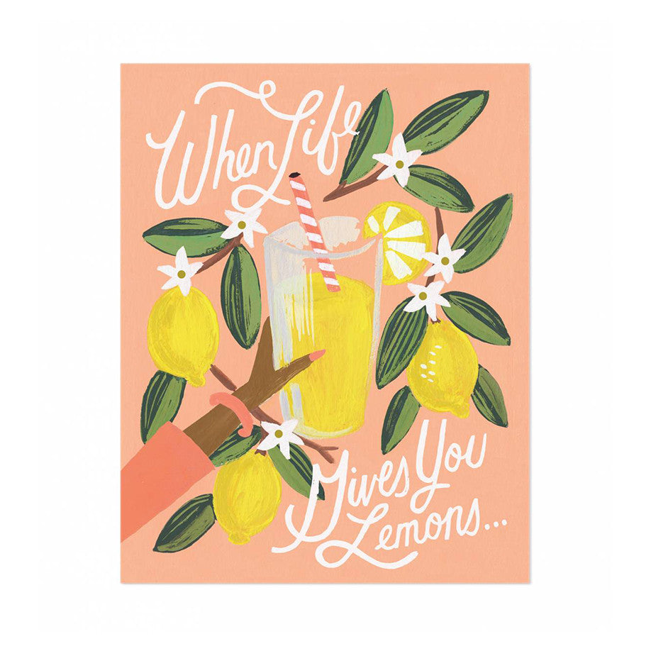 "Lemons to Lemonade 8x10"" Print"