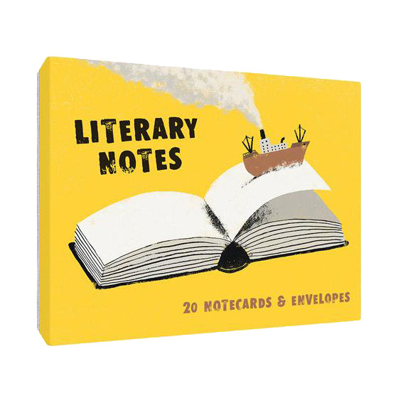 Literary Notes Boxed Cards