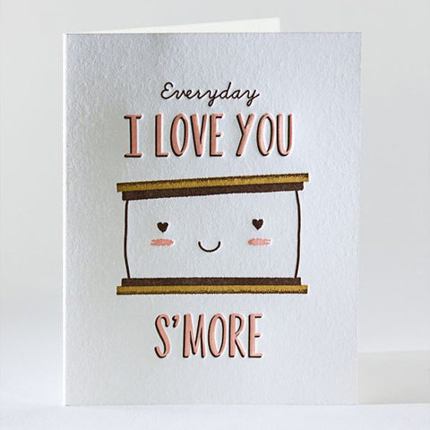 Love You S'more Single Card