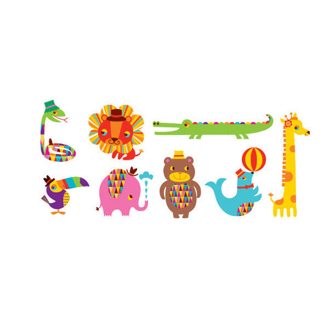 Menagerie Temporary Tattoo Set (set of 8)