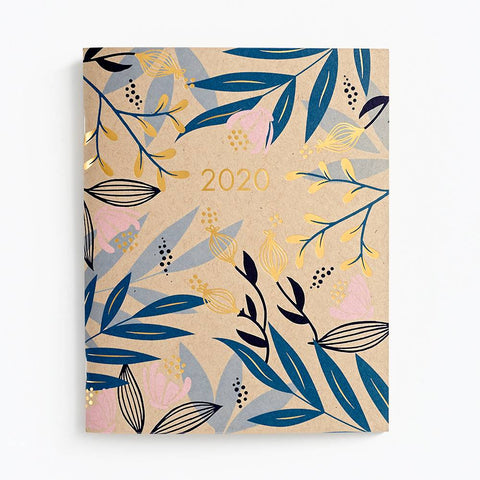 2019-2020 Monthly Booklet - Floral