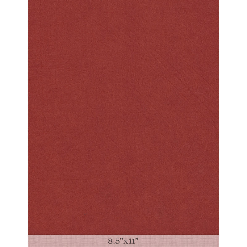 "Moriki Kozo Blood Orange - Sample 8.5"" x 11"""