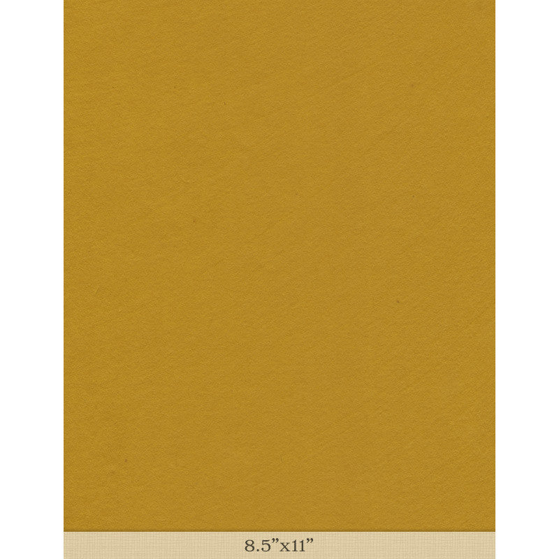 "Moriki Kozo Bright Yellow - Sample 8.5"" x 11"""