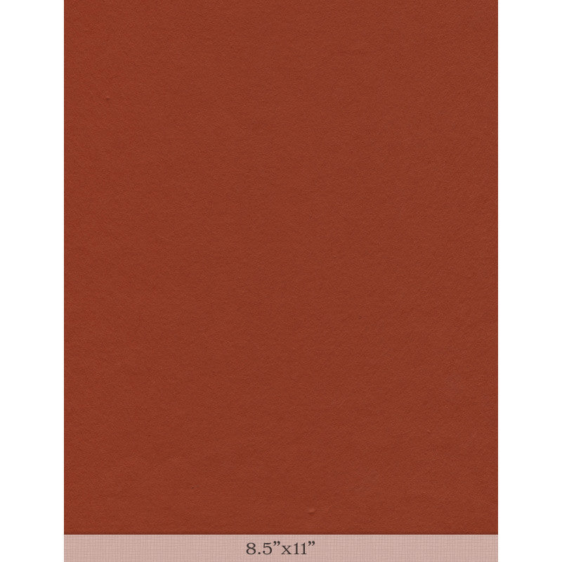 "Moriki Kozo Hot Orange - Sample 8.5"" x 11"""