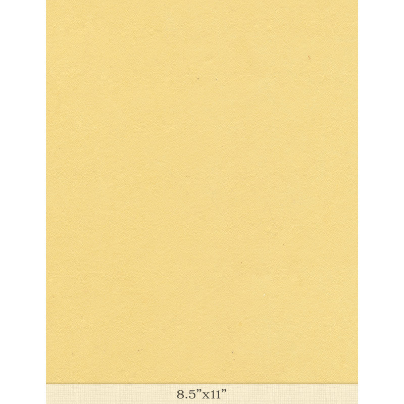 "Moriki Kozo Pale Yellow - Sample 8.5"" x 11"""